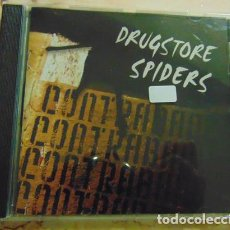 CDs de Música: DRUGSTORE SPIDERS – CONTRABAND - CD GARAGE ROCK. Lote 165436226