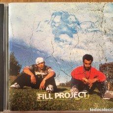 CDs de Música: FILL PROJECT FILL BLACK CD HIP HOP NACIONAL BIEN CONSERVADO. Lote 165436774