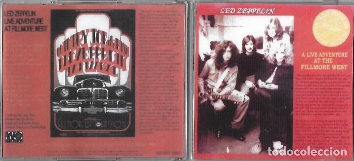 LED ZEPPELIN: A LIVE ADVENTURE AT FILLMORE WEST. GRABADO EN DIRECTO EN EL FILLMORE WEST EN 1969 (Música - CD's Rock)