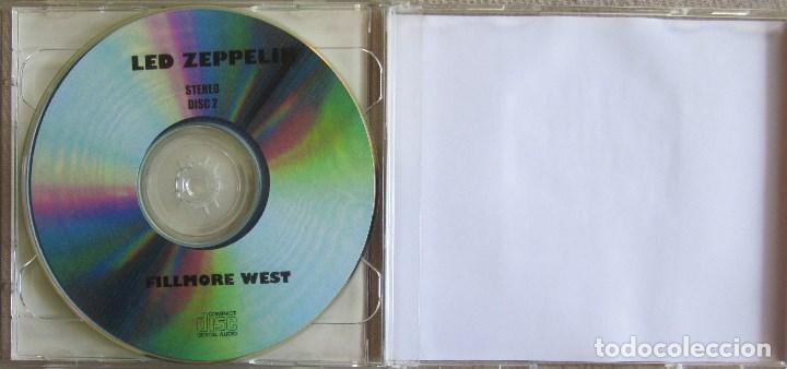 CDs de Música: LED ZEPPELIN: A LIVE ADVENTURE AT FILLMORE WEST. GRABADO EN DIRECTO EN EL FILLMORE WEST EN 1969 - Foto 3 - 165441358