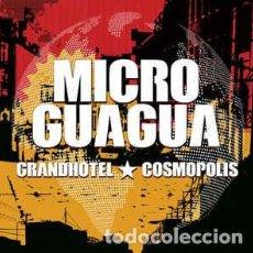 CDs de Música: MICROGUAGUA ?– GRANDHOTEL COSMOPOLIS REGGAE AÑO: 2015. Lote 165456334