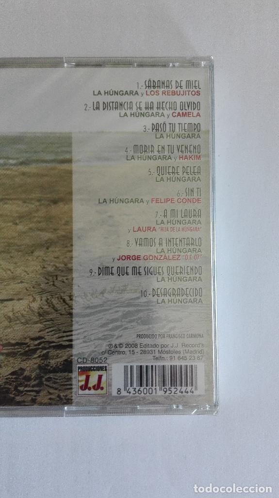CDs de Música: LA HUNGARA MORIR EN TU VENENO NUEVO PRECINTADO - Foto 2 - 165487794