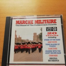 CDs de Música: MARCHE MILITAIRE. THE BAND OF THE COLDSTREAM GUARDS (CD). Lote 165489594