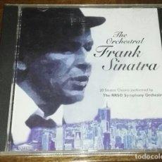 CDs de Música: THE ORCHESTRAL FRANK SINATRA 20 TEMAS. Lote 165510714