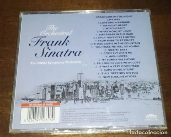 CDs de Música: the orchestral frank sinatra 20 temas - Foto 2 - 165510714