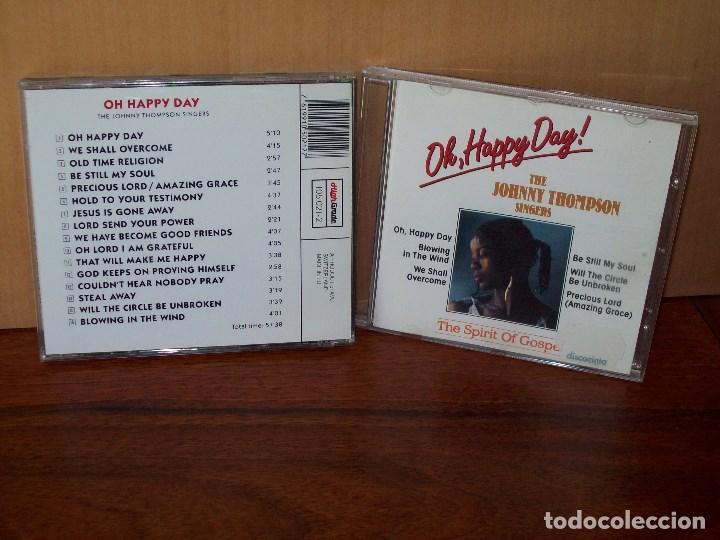 THE JOHNNY THOMPSON SINGERS - OH HAPPY DAY - THE SPIRIT OF GOSPEL - CD 16 CANCIONES (Música - CD's Jazz, Blues, Soul y Gospel)