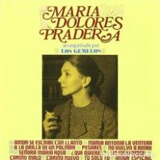 CDs de Música: MARIA DOLORES PRADERA ACOMPAÑADA POR LOS GEMELOS. Lote 165526014