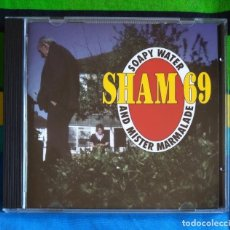 CDs de Música: SHAM 69 - SOAPY WATER AND MISTER MARMALADE CD - PUNK ROCK OI!. Lote 165543266