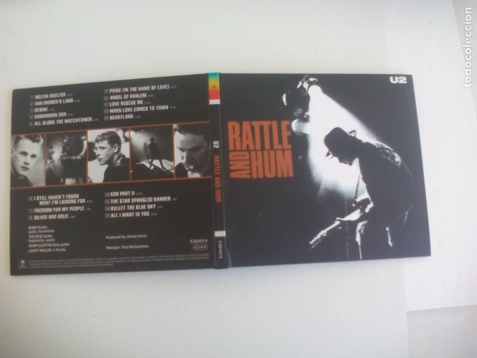 U2 RATTLE AND HUM. CD CON ENCARTE CON LAS LETRAS. 2015. ISLAND RECORDS (Música - CD's Rock)