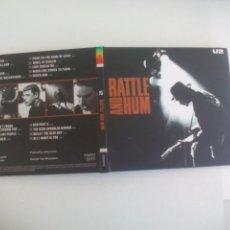 CDs de Música: U2 RATTLE AND HUM. CD CON ENCARTE CON LAS LETRAS. 2015. ISLAND RECORDS. Lote 165552890