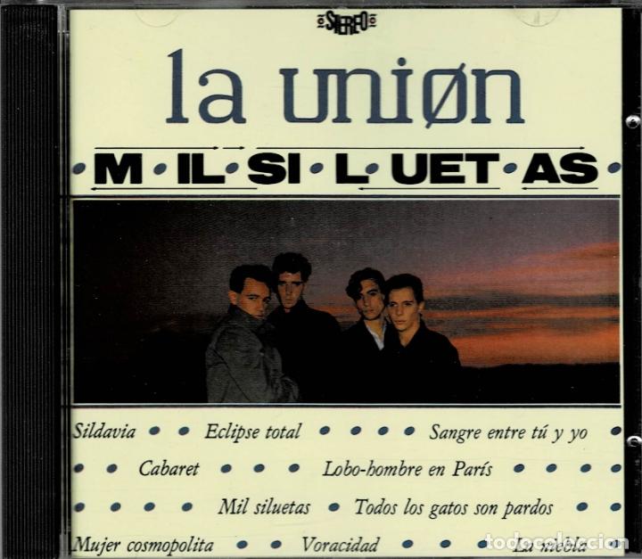 LA UNIÓN. MIL SILUETAS / CD ALBUM DE 1984 RF-1941 , PERFECTO ESTADO (Música - CD's Pop)