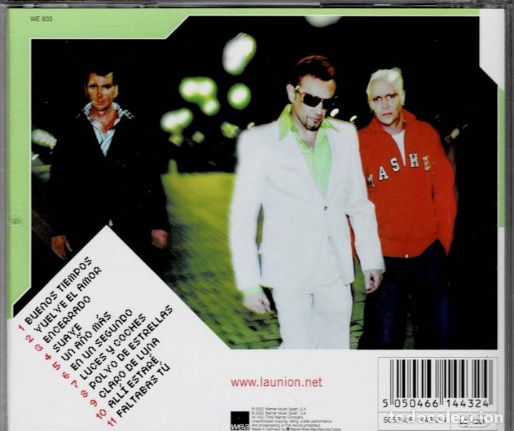 CDs de Música: LA UNION / EL MAR DE LA FERTILIDAD / CD WARNER MUSIC DE 2002 RF-1986 , PERFECTO ESTADO - Foto 2 - 165554126