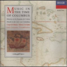 CDs de Música: MUSICA EN LA ESPAÑA DE COLON. GRUPO MUSICAL ALFONSO X EL SABIO / CD (REF.134). Lote 165561950