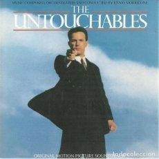 CDs de Música: THE UNTOUCHABLES - ENNIO MORRICONE - CD . Lote 165599034