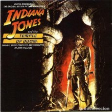 CDs de Música: JOHN WILLIAMS - INDIANA JONES AND THE TEMPLE OF DOOM - CD . Lote 165604566
