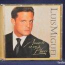 CDs de Música: LUIS MIGUEL - AMARTE ES UN PLACER - CD. Lote 165615498