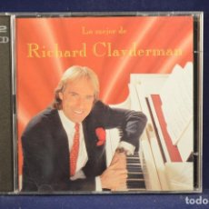 Music CDs - RICHARD CLAYDERMAN - LO MEJOR DE RICHARD CLAYDERMAN - 2 CD - 165619686