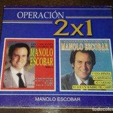 CDs de Música: MANOLO ESCOBAR 2 CD COLECCION. Lote 165628286