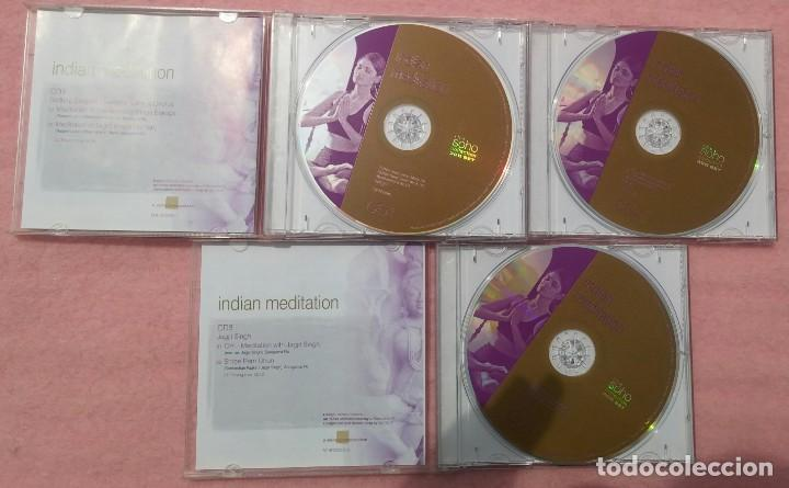 CDs de Música: Indian Meditation, 3CD (Union Square, 2005) // BUEN ESTADO // YOGA / KUNDALINI / VANGELIS / KITARO - Foto 2 - 165652370