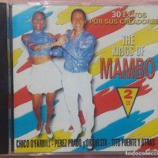 CDs de Música: THE KINGS OF MAMBO, 30 ÉXITOS, 2CD (NOVOSON, 1998) /// SALSA / CUBA / HABANA / MERENGUE / SAMBA . Lote 165653014