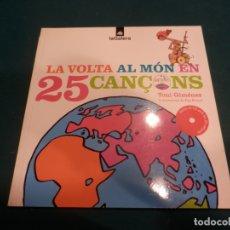 CD di Musica: TONI GIMÉNEZ - LA VOLTA AL MÓN EN 25 CANÇONS - LA GALERA 2004 - LIBRO + CD . Lote 165655742