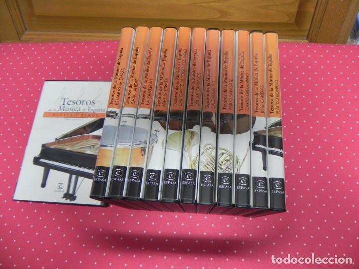 CDs de Música: TESOROS DE LA MÚSICA DE ESPAÑA (COLECCIÓN COMPLETA EN DOCE CDS. NUEVOS) - Foto 2 - 165666258