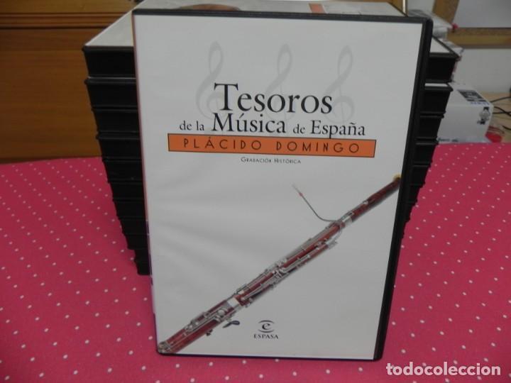 CDs de Música: TESOROS DE LA MÚSICA DE ESPAÑA (COLECCIÓN COMPLETA EN DOCE CDS. NUEVOS) - Foto 3 - 165666258
