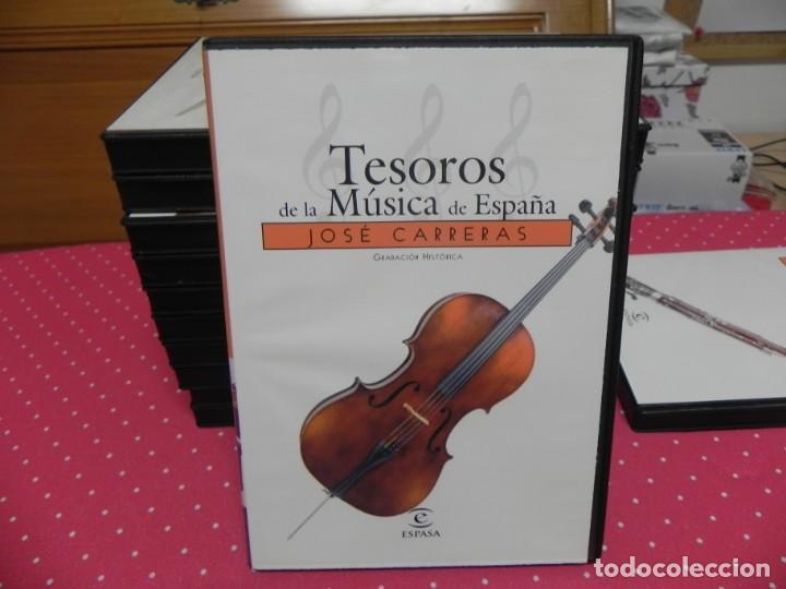 CDs de Música: TESOROS DE LA MÚSICA DE ESPAÑA (COLECCIÓN COMPLETA EN DOCE CDS. NUEVOS) - Foto 4 - 165666258