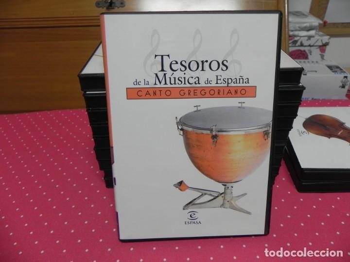 CDs de Música: TESOROS DE LA MÚSICA DE ESPAÑA (COLECCIÓN COMPLETA EN DOCE CDS. NUEVOS) - Foto 5 - 165666258