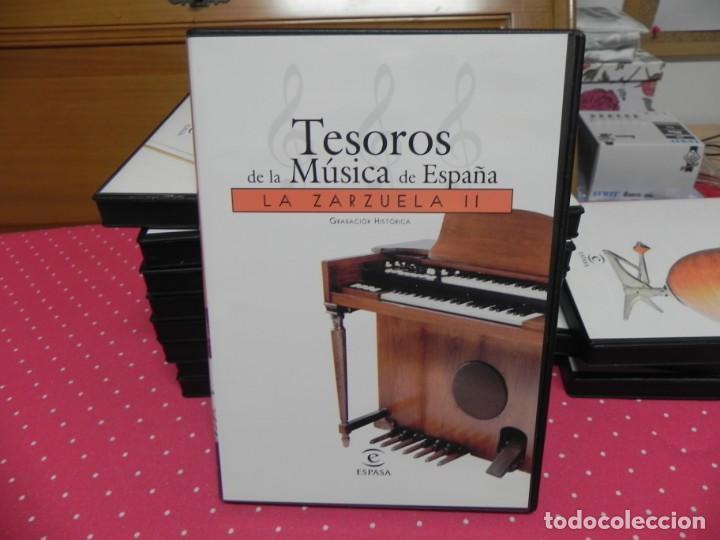 CDs de Música: TESOROS DE LA MÚSICA DE ESPAÑA (COLECCIÓN COMPLETA EN DOCE CDS. NUEVOS) - Foto 6 - 165666258