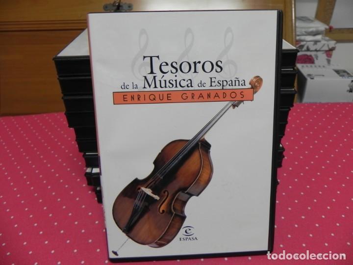 CDs de Música: TESOROS DE LA MÚSICA DE ESPAÑA (COLECCIÓN COMPLETA EN DOCE CDS. NUEVOS) - Foto 8 - 165666258