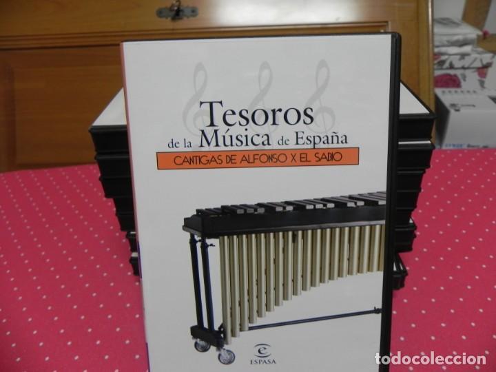 CDs de Música: TESOROS DE LA MÚSICA DE ESPAÑA (COLECCIÓN COMPLETA EN DOCE CDS. NUEVOS) - Foto 9 - 165666258