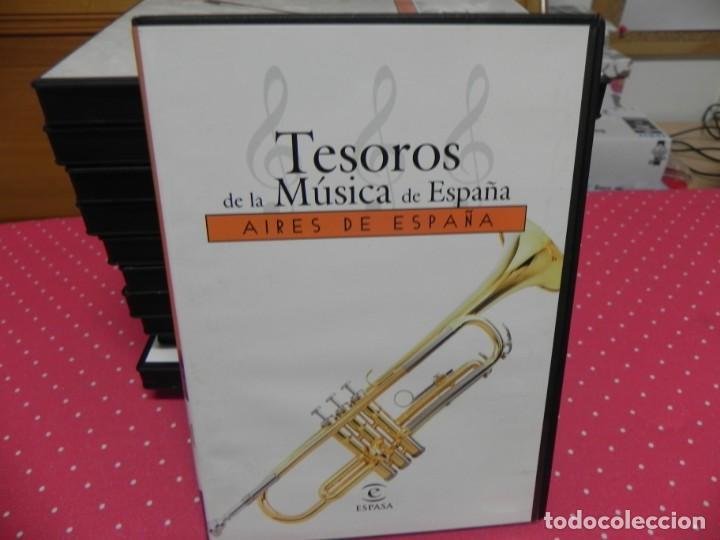 CDs de Música: TESOROS DE LA MÚSICA DE ESPAÑA (COLECCIÓN COMPLETA EN DOCE CDS. NUEVOS) - Foto 10 - 165666258