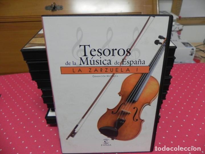 CDs de Música: TESOROS DE LA MÚSICA DE ESPAÑA (COLECCIÓN COMPLETA EN DOCE CDS. NUEVOS) - Foto 11 - 165666258
