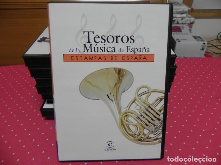 CDs de Música: TESOROS DE LA MÚSICA DE ESPAÑA (COLECCIÓN COMPLETA EN DOCE CDS. NUEVOS) - Foto 13 - 165666258