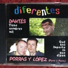 CDs de Música: LEONARDO DANTES, PACO PORRAS Y PACO LOPEZ (DIFERENTES) CD 2003 * RARO - TAMARA. Lote 165672646