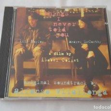 CDs de Música: CD / B.S.O. BY ALFONSO VILALLONGA / THINGS I NEVER TOLD YOU. Lote 165693750