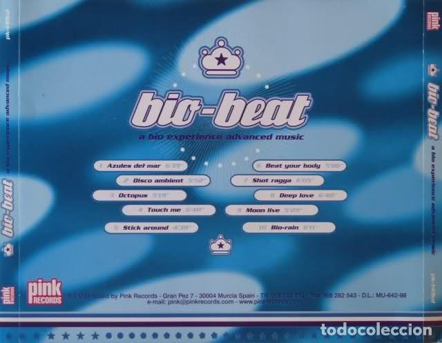 CDs de Música: BIO-BEAT (1998) 1 CD PINK RECORDS - Foto 2 - 165744314