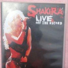 CDs de Música: SHAKIRA - LIVE & OFF THE RECORD, SÓLO EL CD (SONY MUSIC, 2004) /// RIHANNA / BEYONCÉ / DADDY YANKEE . Lote 165748442