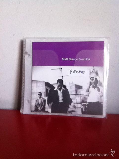CD. MATT BIANCO. GRAN VÍA (Música - CD's Jazz, Blues, Soul y Gospel)