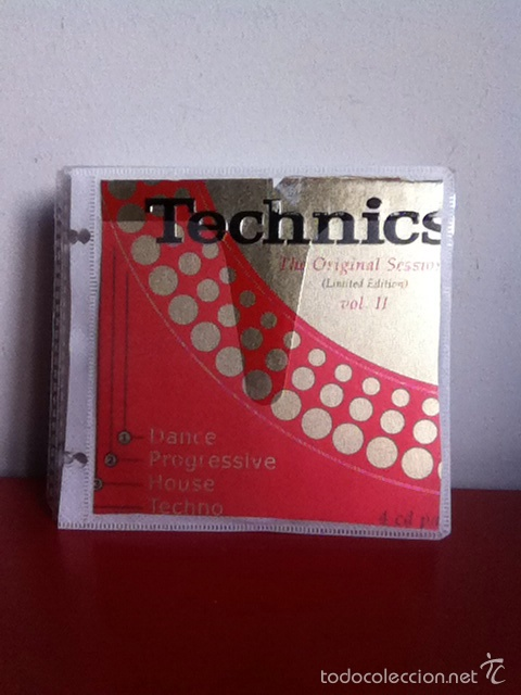 4 CD'S TECHNICS. VOL II (Música - CD's Techno)