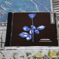 CDs de Música: DEPECHE MODE - VIOLATOR - LIMITED REMIX EDITION - RAREZA - IMPORTACIÓN - CD. Lote 165767734