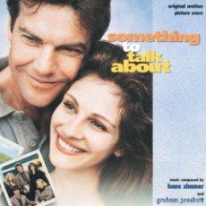 CDs de Música: SOMETHING TO TALK ABOUT / HANS ZIMMER & GRAHAM PRESKETT CD BSO. Lote 218445480