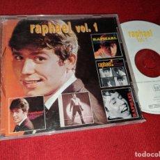 CDs de Música: RAPHAEL VOL.1 LOS EPS ORIGINALES CD 1996 HISPAVOX. Lote 165814710