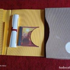 CDs de Música: YANNI ELEGANTE CARPETA PROMOCIONAL CON PERGAMINO CD PRECINTADO. Lote 165821410