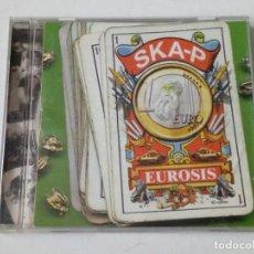 CDs de Música: (LEER DESCRIPCIÓN) CD: SKA-P - EUROSIS (BMG, 1998) SKA PUNK. Lote 165830270