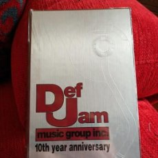 CDs de Música: DEF JAM/ MUSIC GROUP INC /10 YEARS ANNIVERSARY/PRECINTADO. Lote 165830566