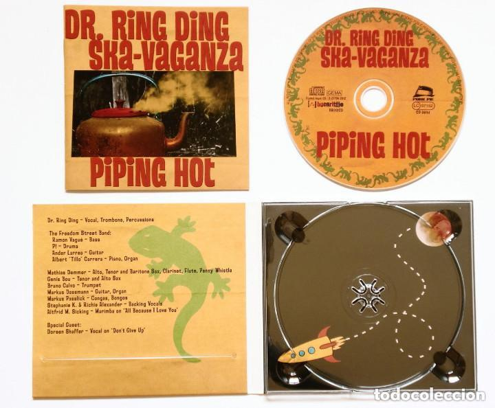 CDs de Música: CD - DR. RING DING SKA-VAGANZA - Piping Hot (Pork Pie BR012CD) Skinhead, reggae, mod, ska, rude - Foto 2 - 165832386