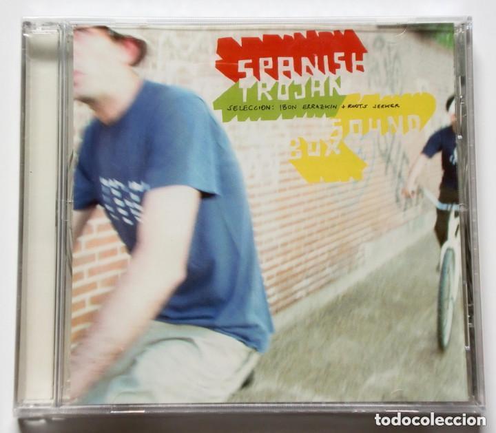 CD - SPANISH TROJAN SOUND BOX - REGGAE - 27 TRACK COMPILATION - PRECINTADO (Música - CD's Reggae)