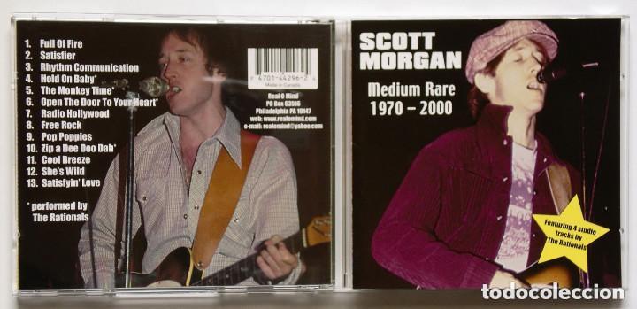 CD: SCOTT MORGAN - MEDIUM RARE 1970-2000 (REAL O MIND) RATIONALS SONIC'S RENDEZVOUS (Música - CD's Rock)